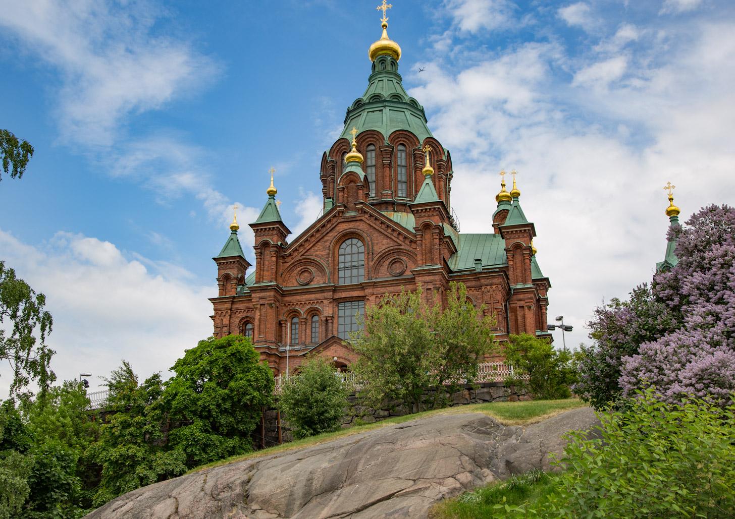 De Oespenski Kathedraal in Helsinki