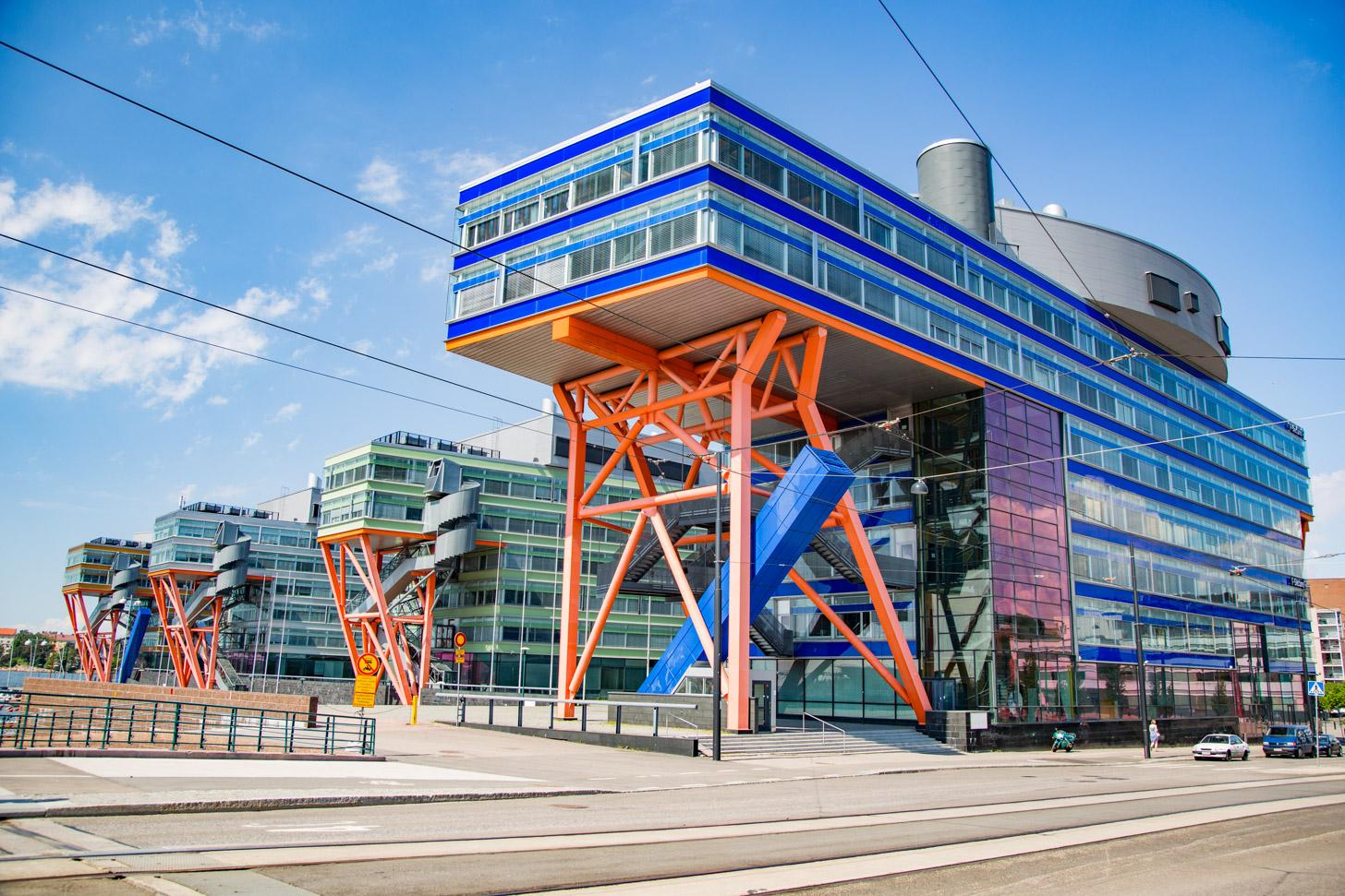 Modern Helsinki