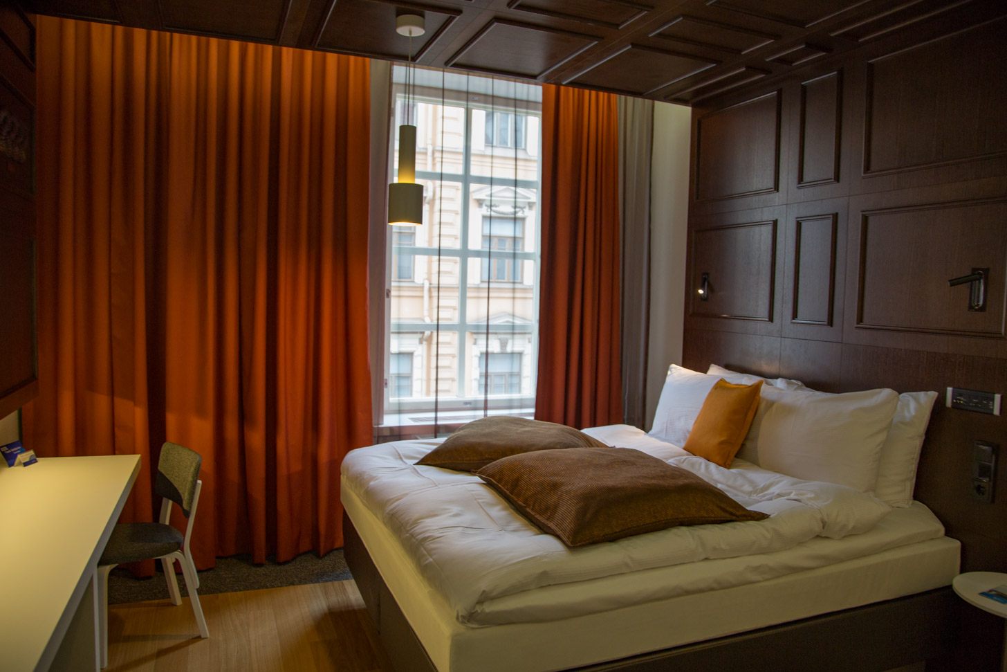 Hotelkamer in Helsinki