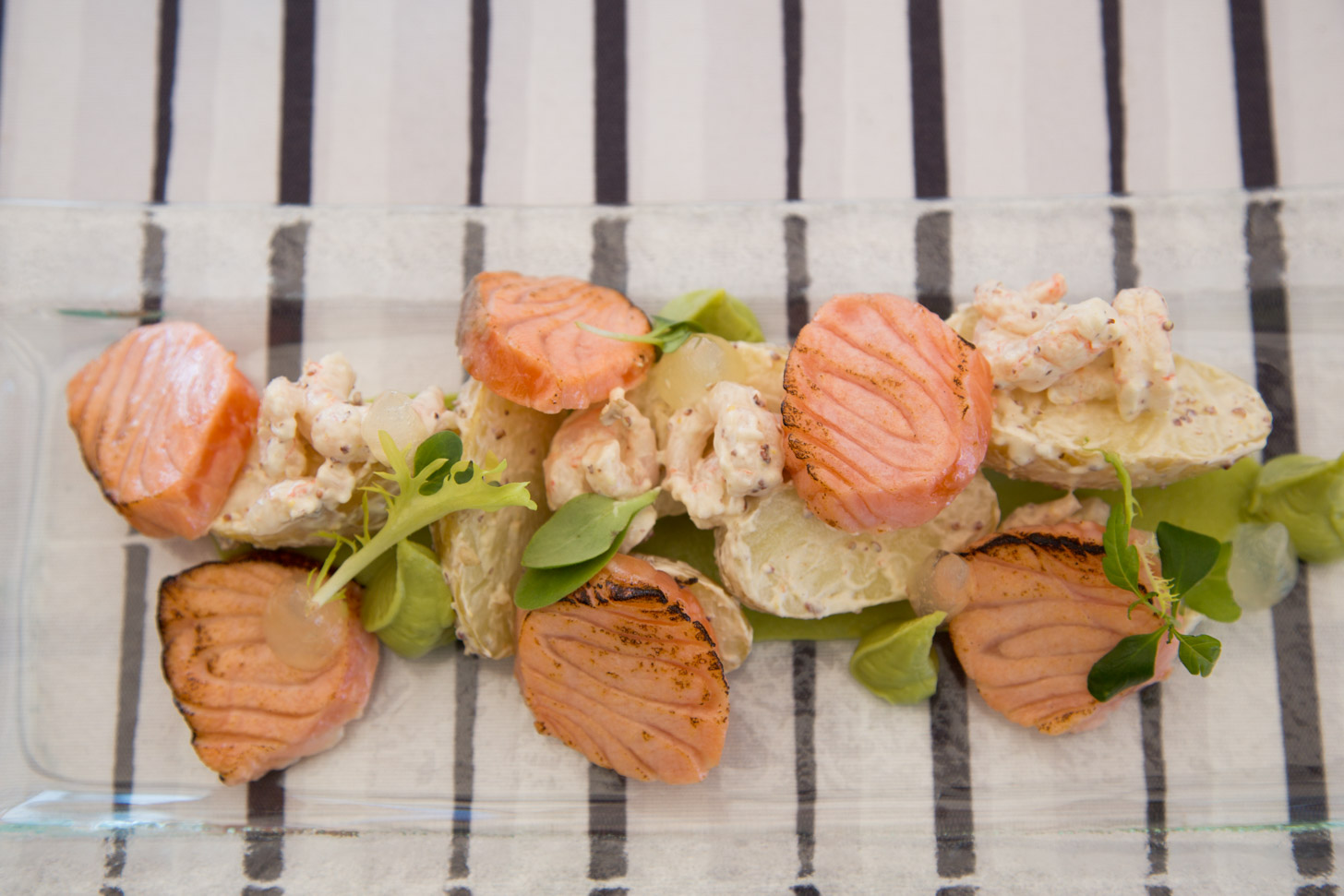 Veel gerechten in Helsinki zijn gebaseerd op vis