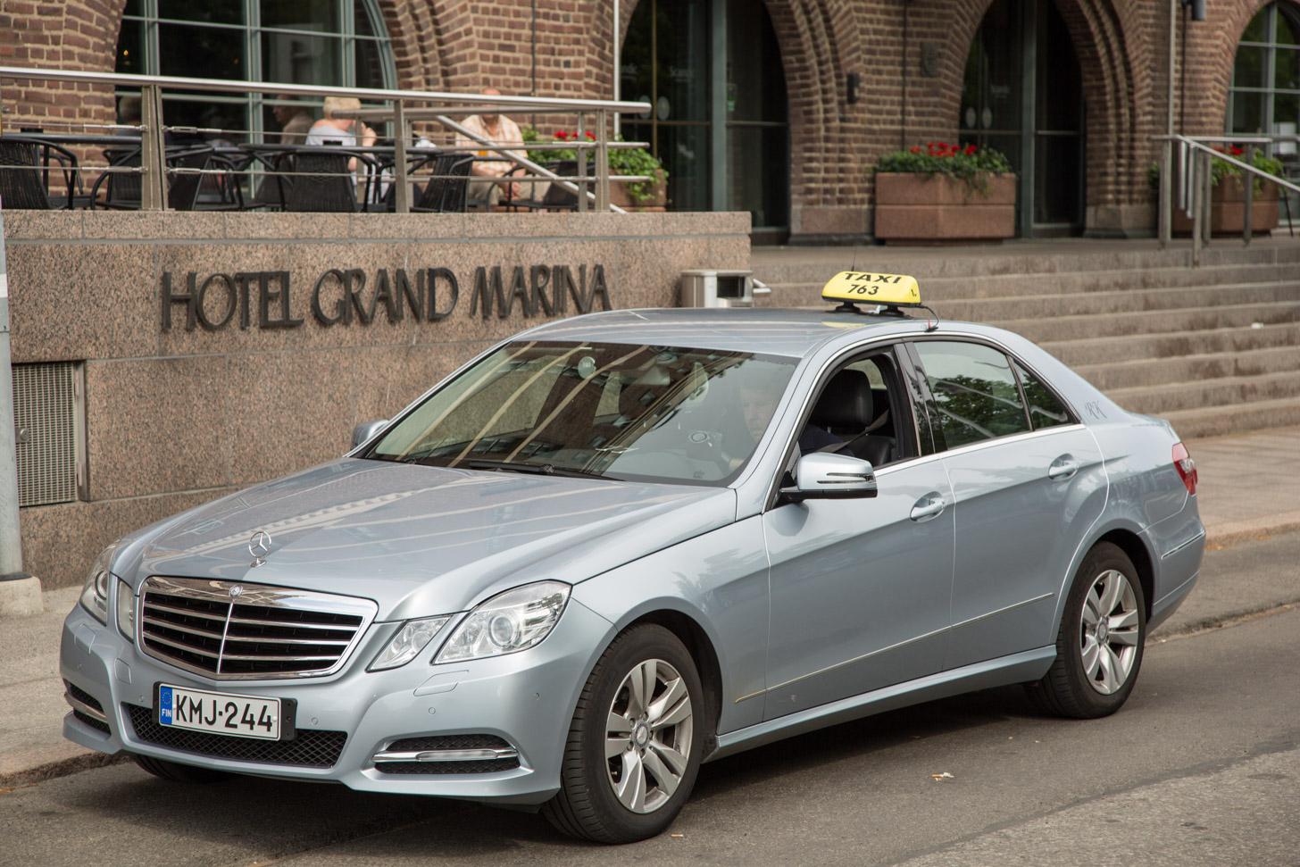 Taxi in Helsinki