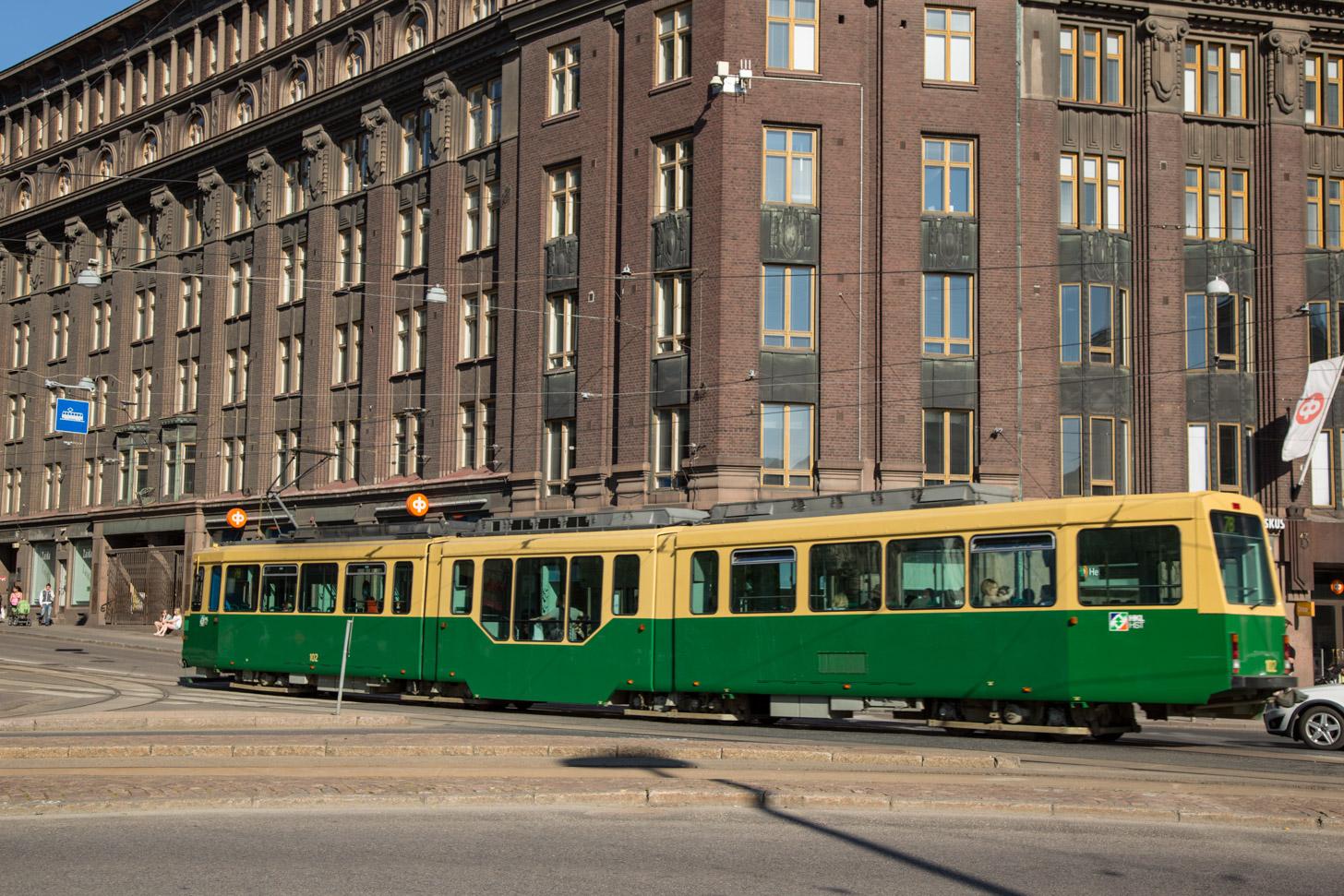 De tram als vervoersmiddel