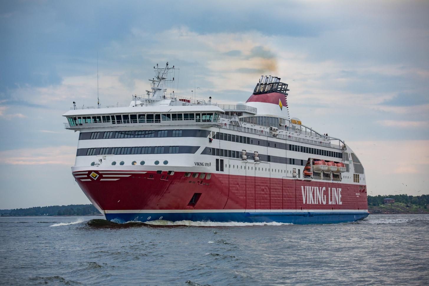 De veerboot tussen Helsinki en Tallinn